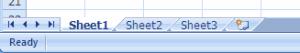 worksheet ms excel